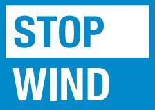 stop wind